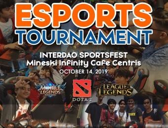 Esports Tournament Interdao Sportsfest - October 14, 2020