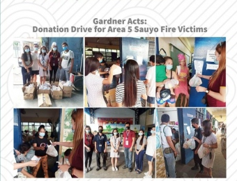 Gardner Acts 2020: Donation Drive for Sauyo Fire Victims