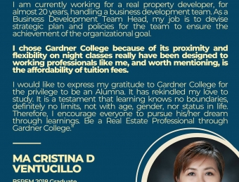 Gardner College Alumni Write-Up
