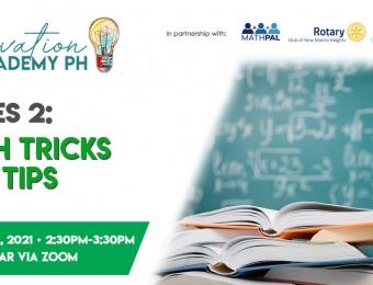 Innovation Academy PH Series 2: Math Tricks and Tips