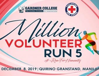 Million Volunteer Run 5 #RunForHumanity