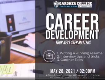 Webinar 2021: Career Development (Your Next Step Matters)